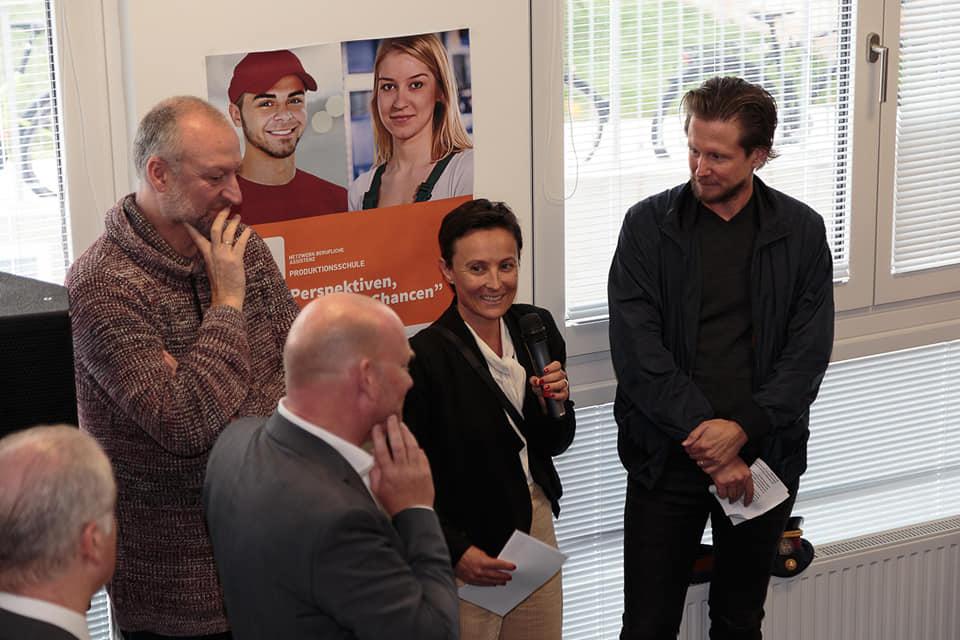 Jugendclub spacelab im Sonnwendviertel offiziell eröffnet